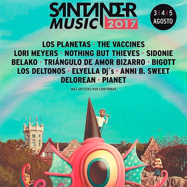 santander music 2017 cartel