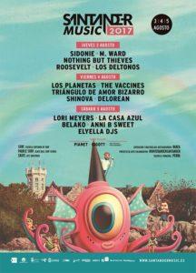santander music festival cartel 2017