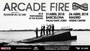 arcade fire conciertos espana