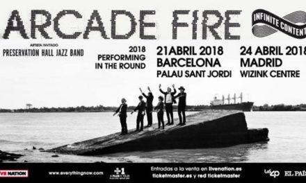 Arcade Fire anuncian conciertos en España en 2018