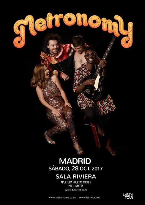 metronomy madrid 2017