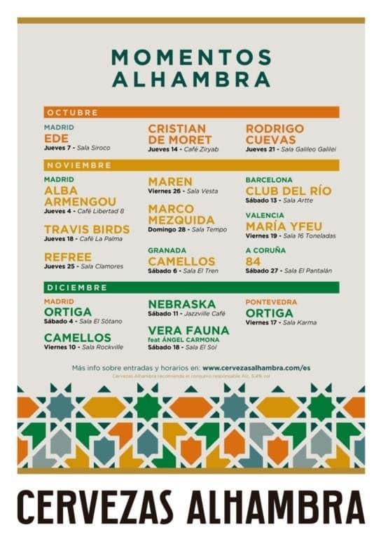 momentos alhambra 2021 madrid