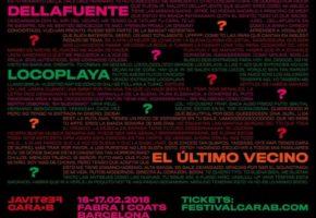 Festival Cara•B 2018: confirmaciones y cartel