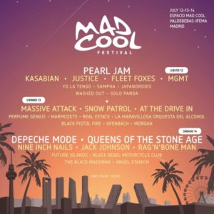 mad cool 2018 cartel dias