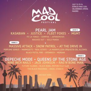 mad cool 2018 cartel dias