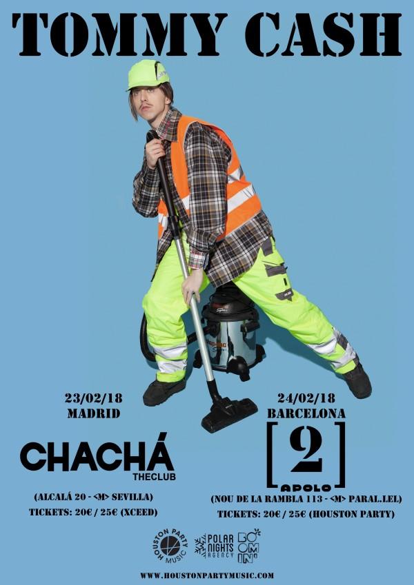 tommy cash conciertos espana 2018