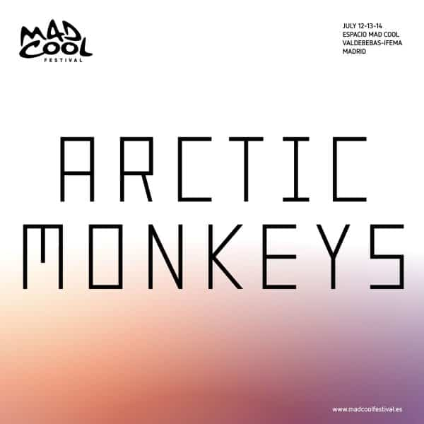 arctic monkyes mad cool 2018