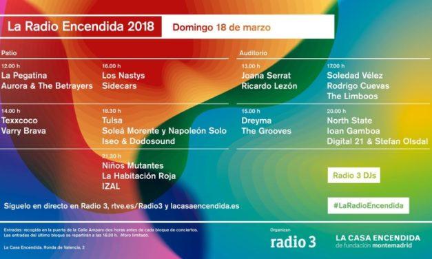 La Radio Encendida 2018: conciertos y horarios