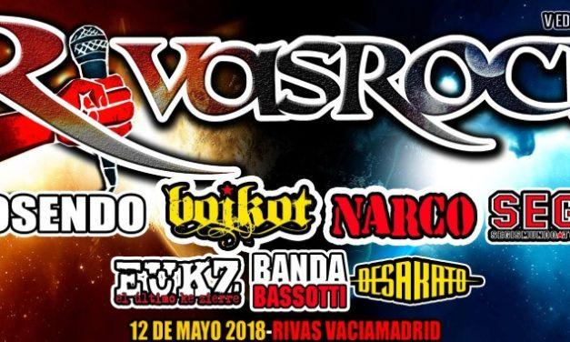 La quinta edición del Festival Rivas Rock te espera el 12 de mayo (2018)