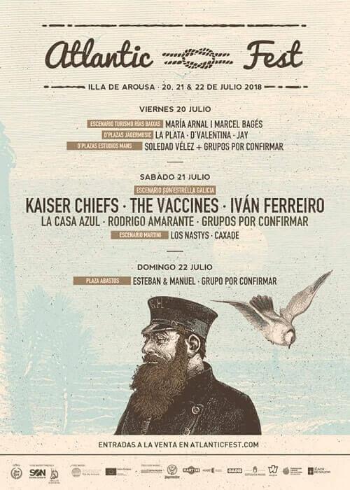 Cartel del Atlantic Fest 2018