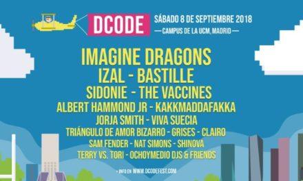 DCODE 2018: cartel, confirmaciones y entradas