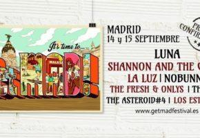 GetMAD! Festival 2018: cartel, confirmaciones y entradas