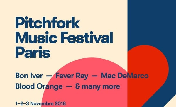 Pitchfork Music Festival Paris 2018: cartel