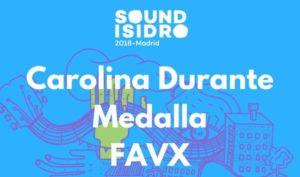 sound isidro 2018 carolina medalla favx