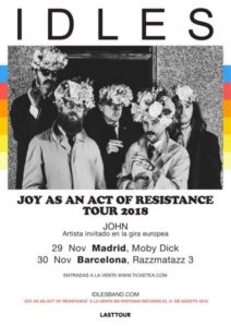 idles madrid barcelona 2018