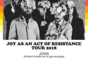 IDLES actuarán en España en noviembre de 2018