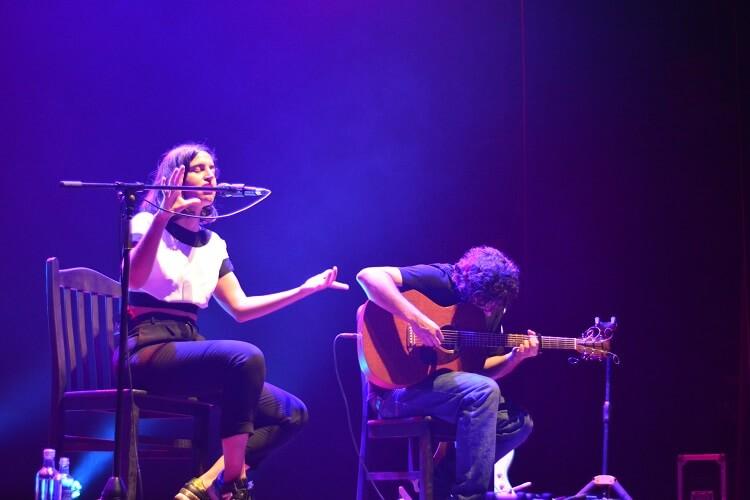 María Arnal en el Auditorio del Atlantic Fest 2018