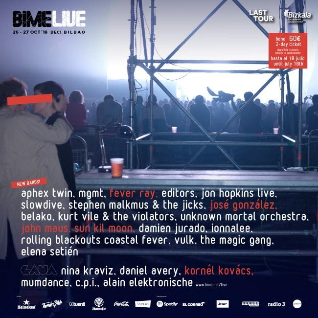 Bime Live Jose Gonzalez