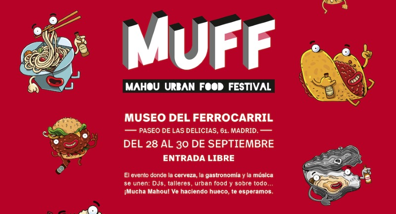 mahou urban food festival