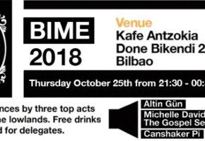 Programación de Dutch Impact en BIME Live 2018