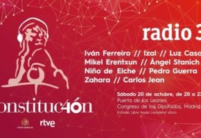 Conciertos gratis por el 40 aniversario de la Constitución: Izal, Zahara, Iván Ferreiro...