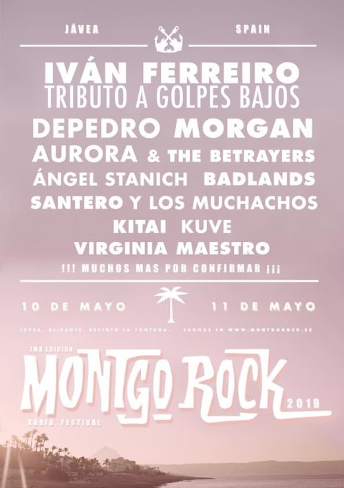 montgorock festival 2019 cartel