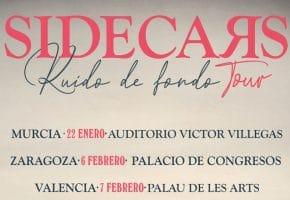 Conciertos de Sidecars en España - 2021 - Entradas Ruido de Fondo Tour