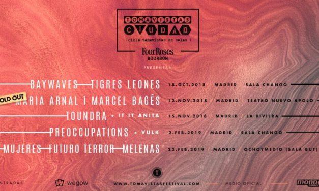Tomavistas Ciudad 2019: conciertos de Mujeres, Preoccupations…