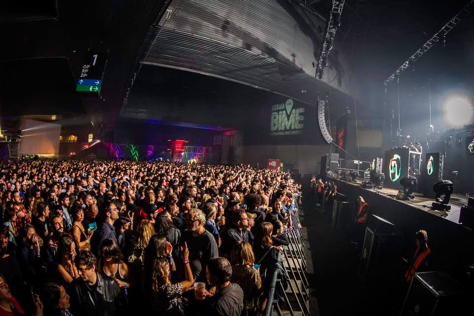 Aphex Twin en el Bime Live 2018