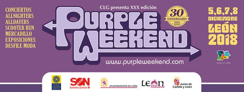 Guía para el Purple Weekend 2018