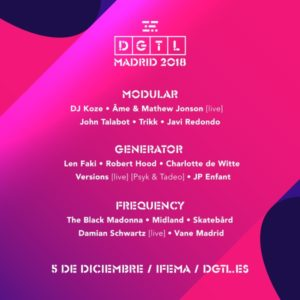dgtl madrid 2018 cartel