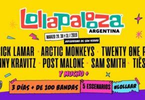Lollapalooza Argentina 2019: cartel, bandas y entradas