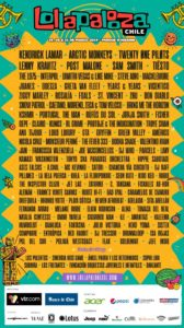 lollapalooza chile 2019 cartel