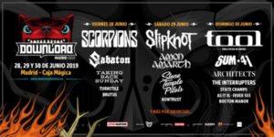 download festival madrid 2019 cartel dias