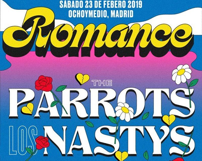 The Parrots y Los Nastys celebrarán su 10º aniversario en Ochoymedio