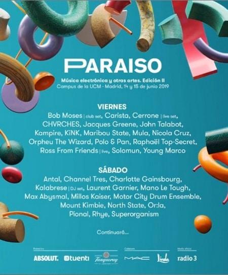 festival paraiso 2019 cartel