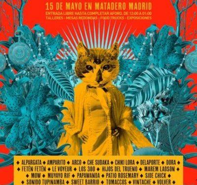 Plaza Sonora 2019: conciertos gratis en Matadero Madrid