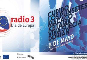 Radio 3 Día de Europa: conciertos gratis en Conde Duque Madrid