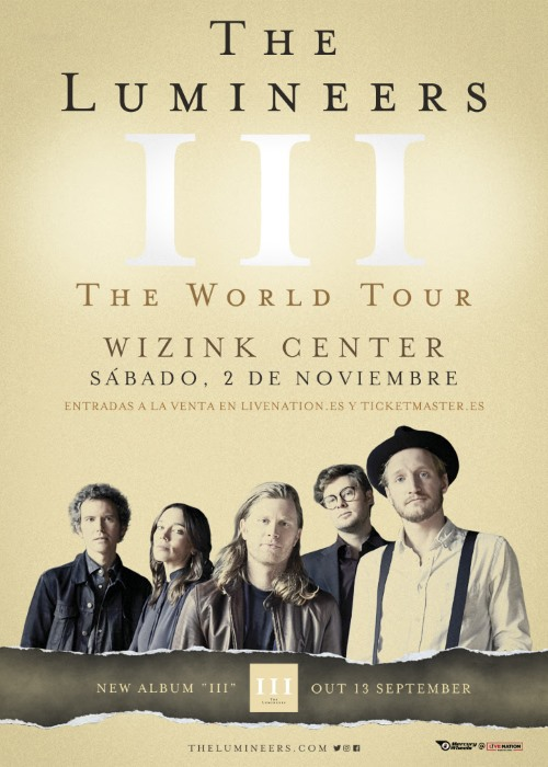 the lumineers concierto madrid