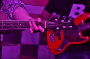 Guitarra de Immaculate Fools