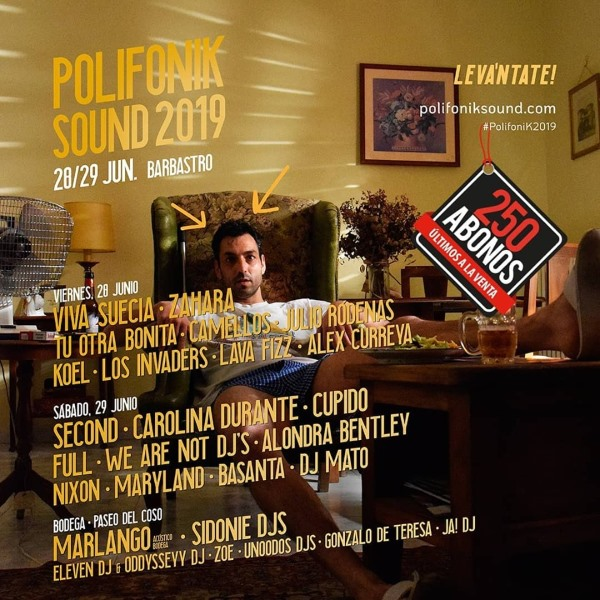 polifonik sound 2019 cartel