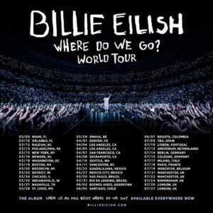 Gira de Billie Eilish en el 2020