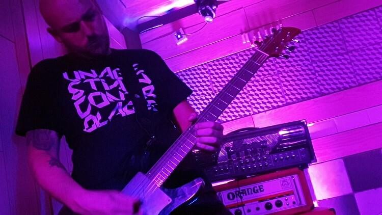 Guitarra de Cuchillo de Fuego