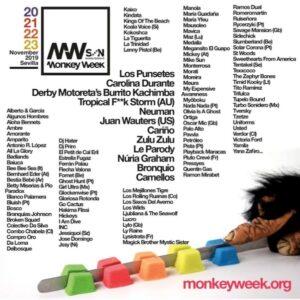 monkey week 2019 cartel