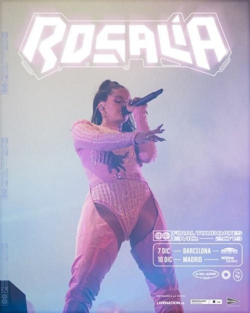 rosalia 2019 conciertos