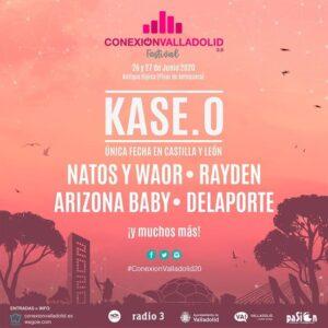 Cartel del Festival Conexión Valladolid 2020