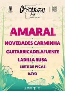 Cartel del Cooltural Fest 2020 en Almería