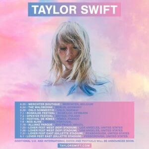 Conciertos de Taylor Swift en Europa 2020