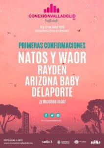 Cartel del Conexión Valladolid 2020