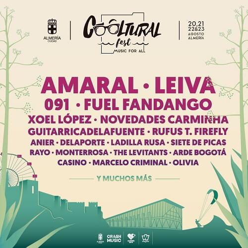 Cartel del Cooltural Fest 2020